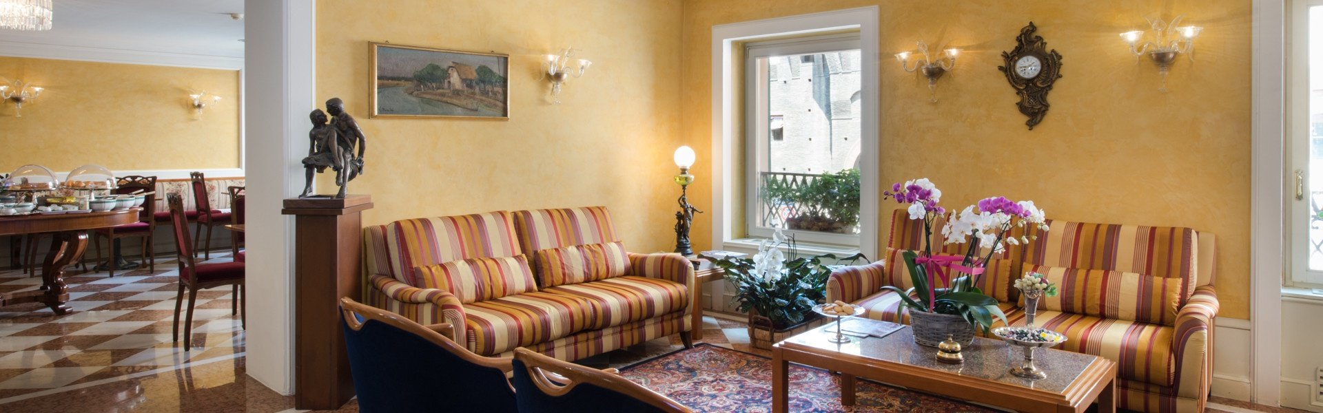 The special feeling of being at home  art hotel orologio bologna
